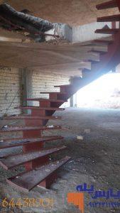 راه پله تک محور میانی