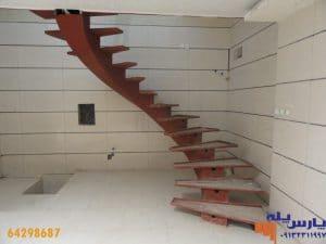 مدل پله خانه دوبلکس