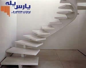 راه پله سازه میانی