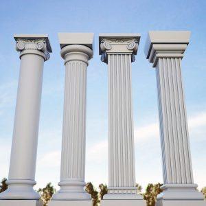 انواع ستون ساختمان